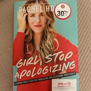 """Other - """"Girl Stop Apologizing"""" By Rachel Hollis"""
